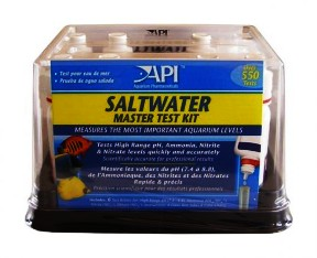 Aquarium Pharmaceuticals Saltwater Master Test Kits